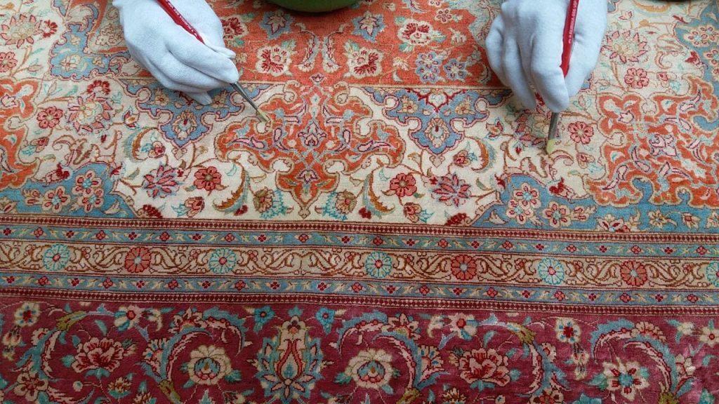 چگونه فرش را وینتیج کنیم