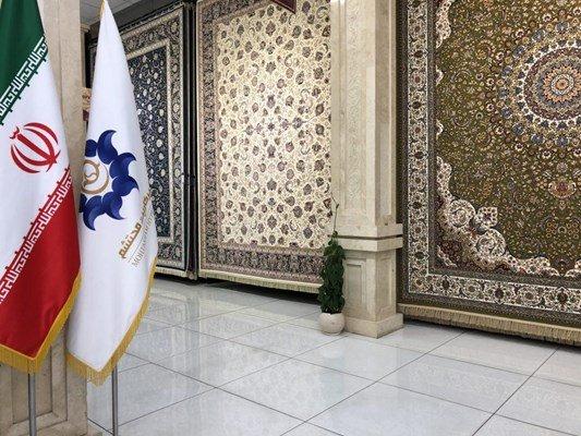 تصویر نمای داخلی فرش محتشم
