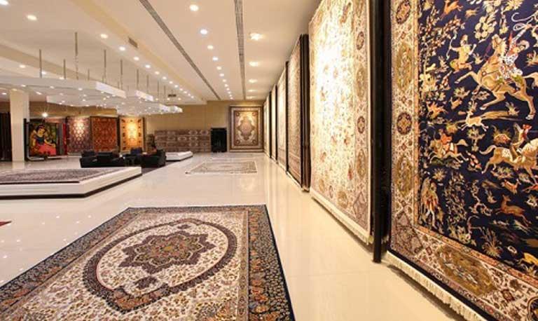 نمای داخلی فرش فرهی