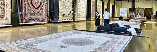 فضای داخلی دنیای فرش