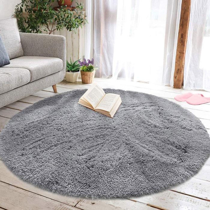 خرید فرش گرد