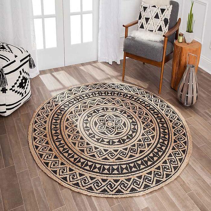 خرید فرش گرد کوچک