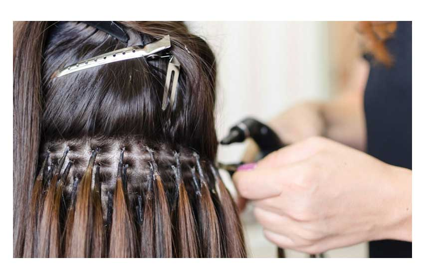 اکستنشن مو طبیعی