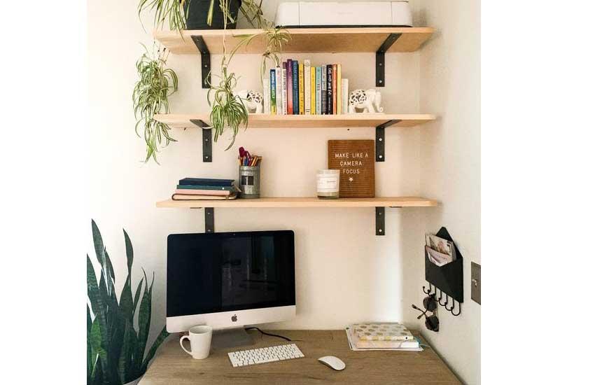 استفاده از قفسه ها و شلف ها در فضاهای مختلف خانه